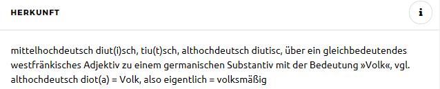 Deutsch=Volk