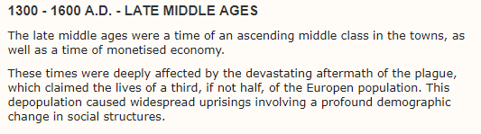 Late Middle Ages Title