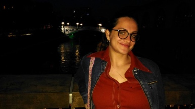 Night time in Ljubljana
