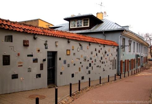 Literature street - Vilnius
