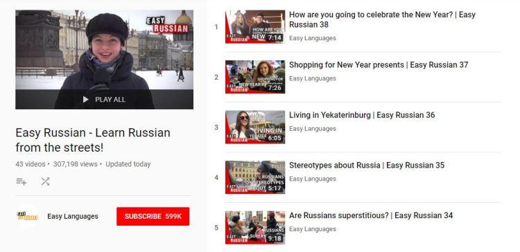 Easy Russian