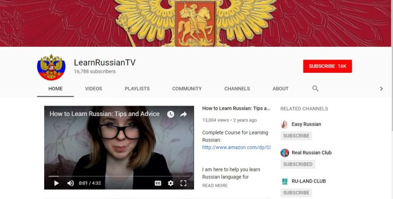 Learn Russian TV