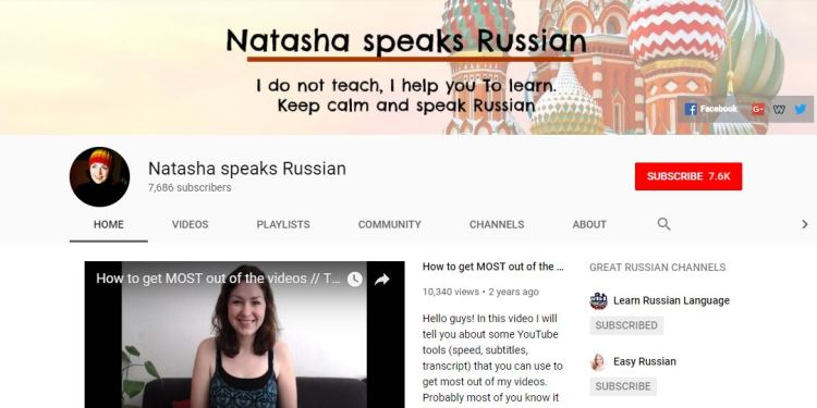 Natasha Speaks Russian