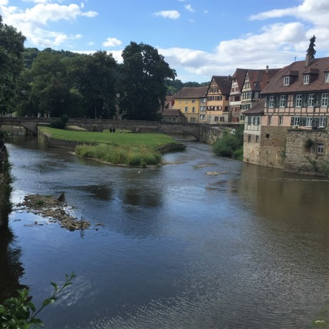 perfect setting for a romantic play ~ Schwäbisch Hall
