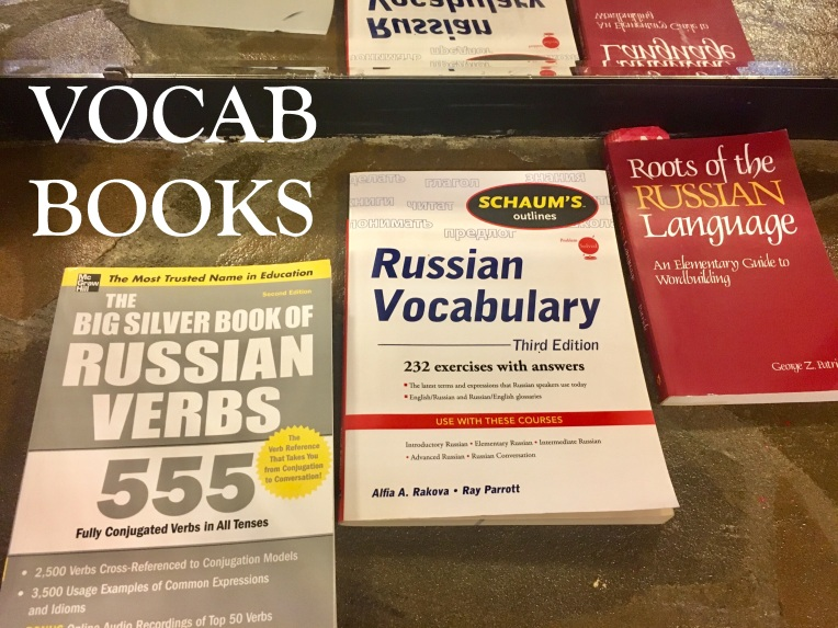 VOCAB BOOKS